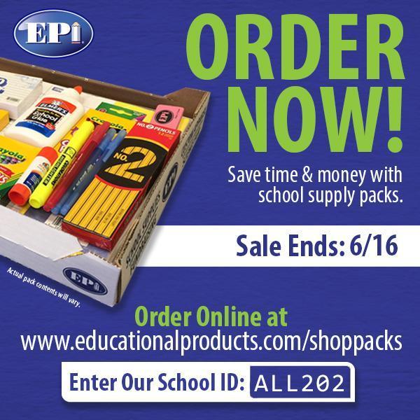 Supply Pack Order Information