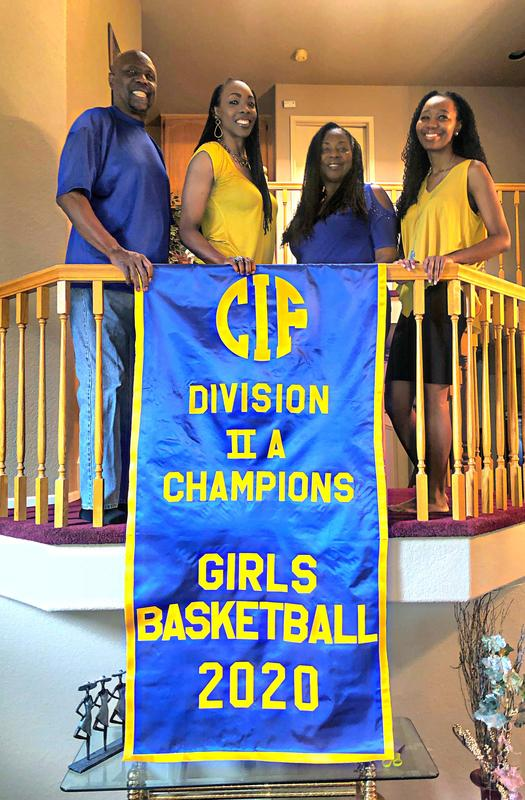 Ms. Buckley and her Family Celebrate a CIF-SS Championship Featured Photo
