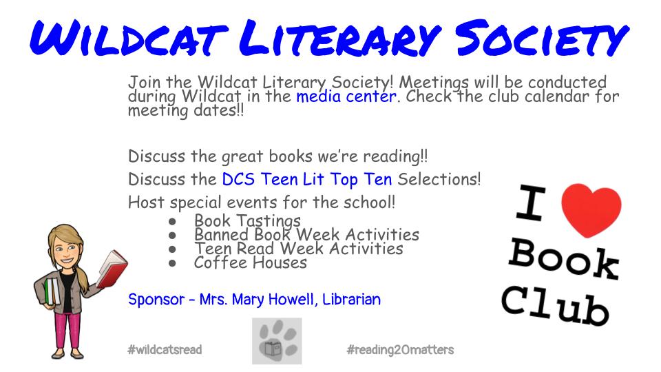 Wildcat Literary Society