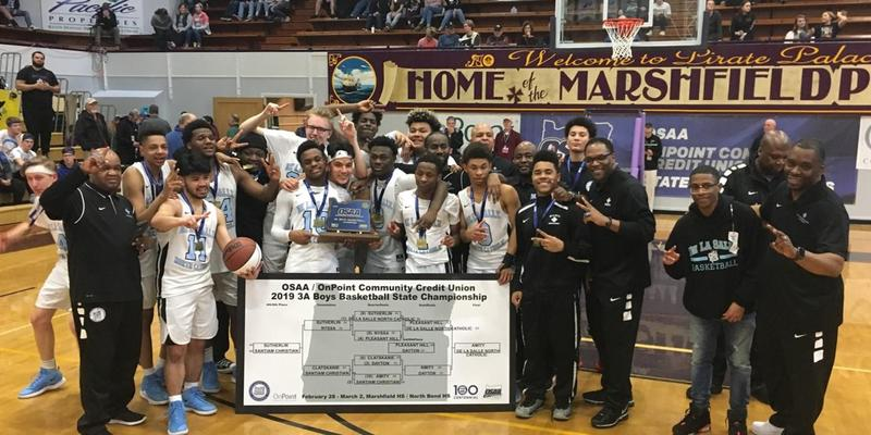 Knights Repeat 3A Boys Basketball State Championship Thumbnail Image