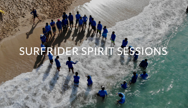 Surfrider Spirit Session with beach picture