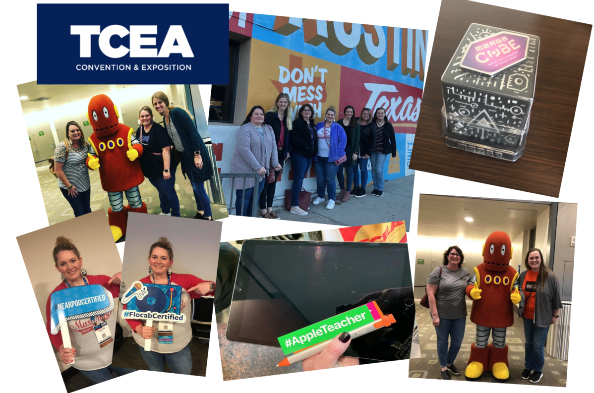 TCEA collage