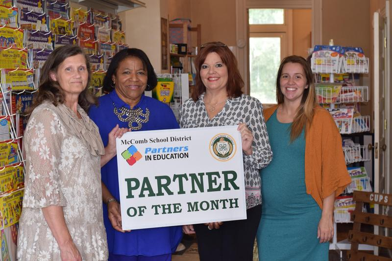 Teacher and Parent Store Business of the Month photo.