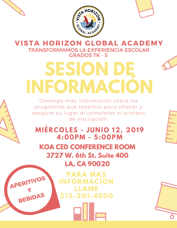 Sesion de Information  /  Information Session Featured Photo