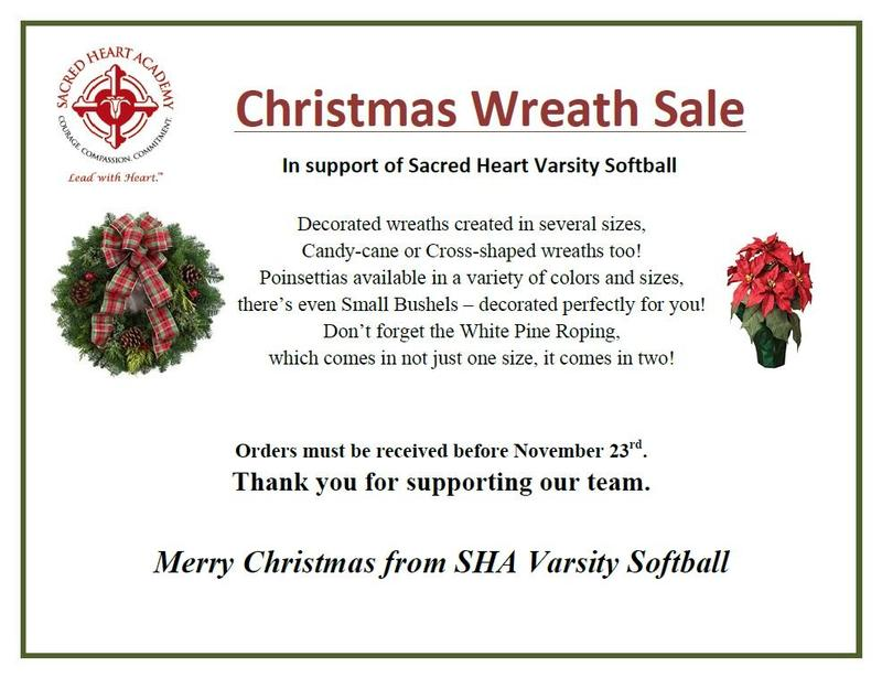 Softball Christmas Wreath Sale 2018 Featured Photo