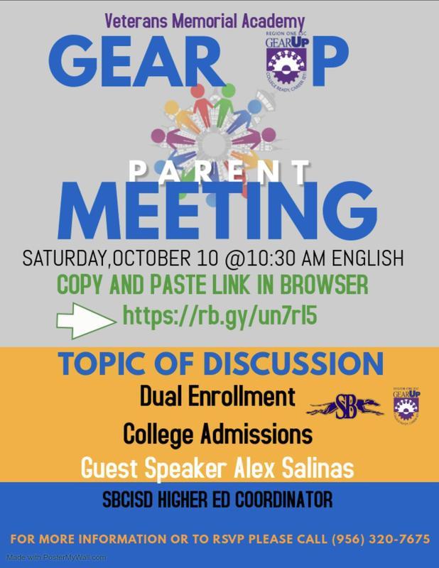 Dual Enrollment Parent Meeting
