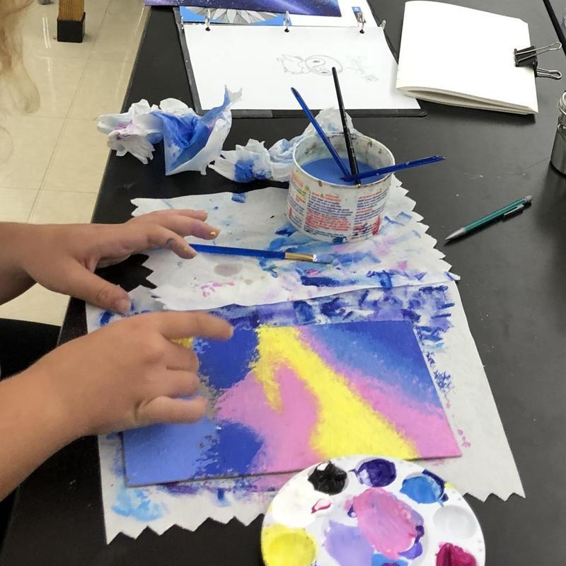 Art classes at HS