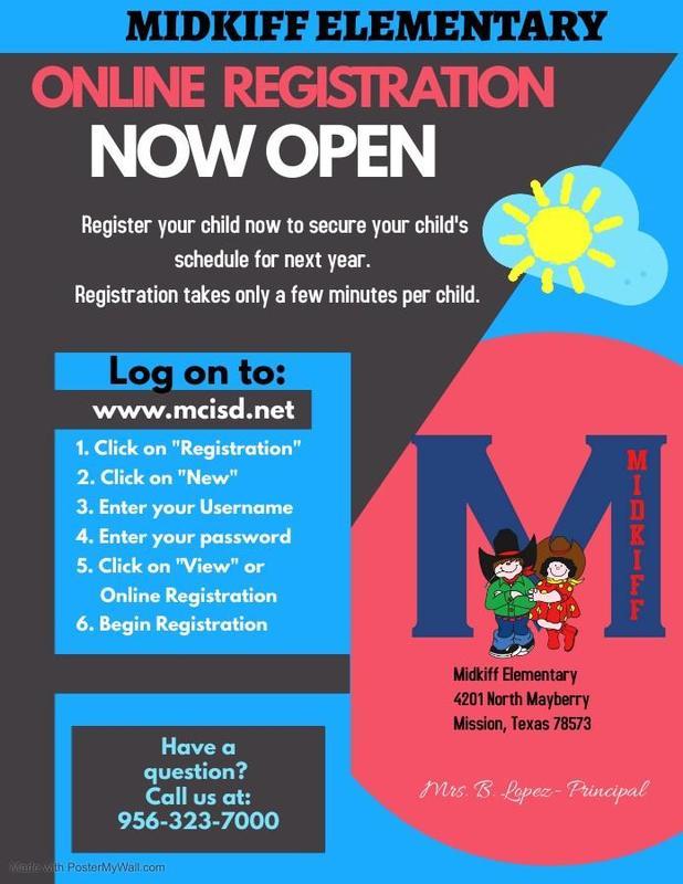 MCISD Online Registration Now Open Featured Photo
