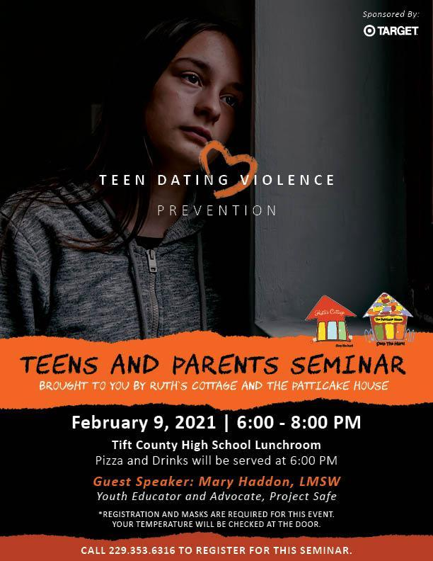 Teens and Parents Seminar on Teen Dating Violence Prevention Featured Photo