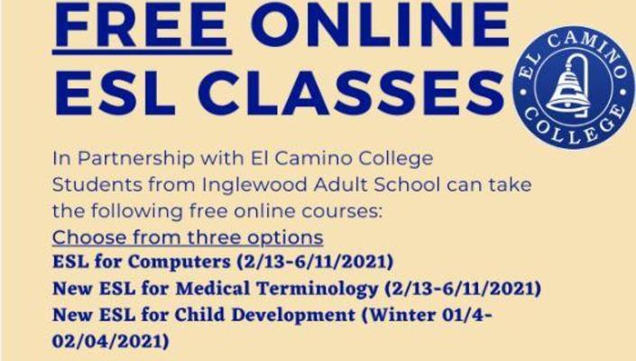 ECC-Winter Spring 21 Classes