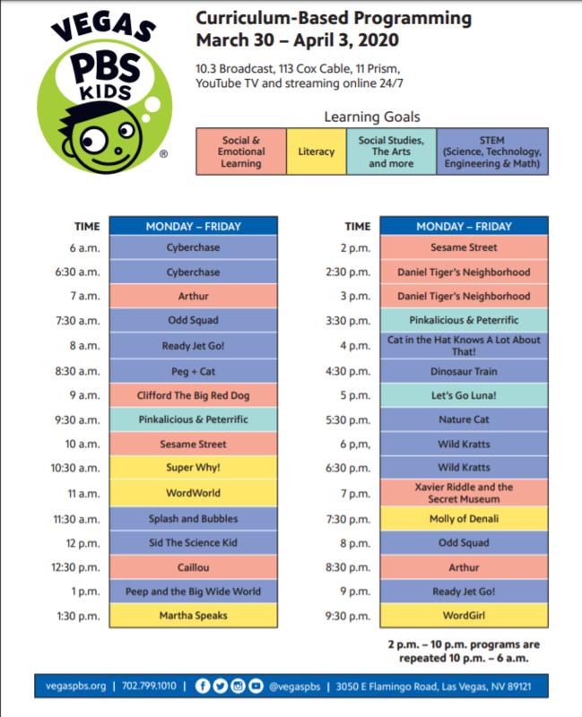 Vegas PBS Curriculum-Based Programming Thumbnail Image