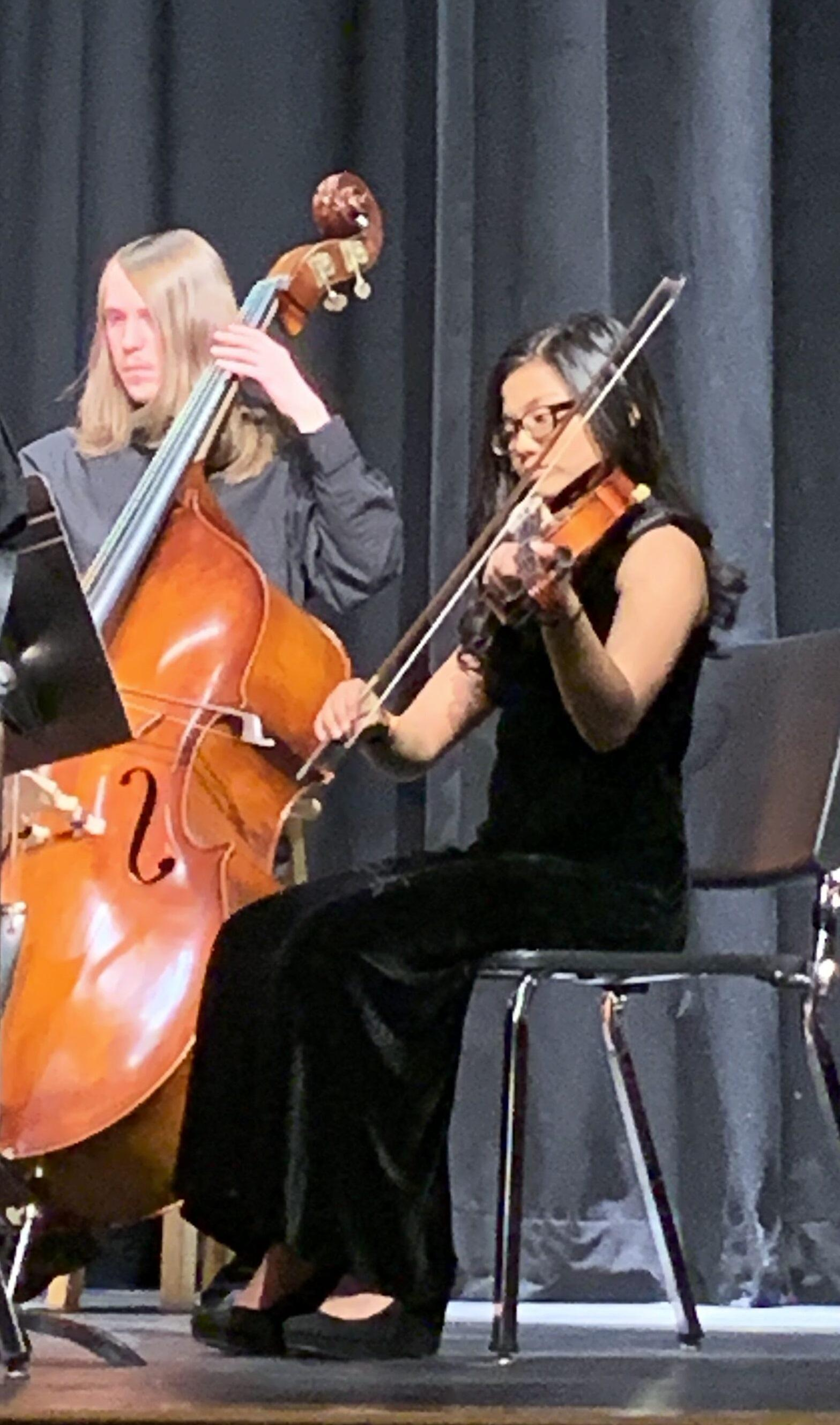 Viola and bass