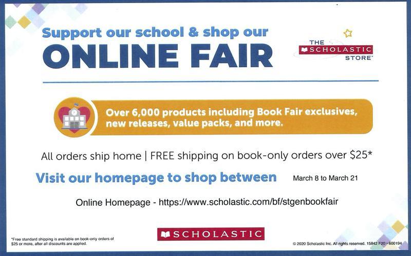 SGES Scholastic Online Book Fair Featured Photo