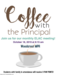 Coffee with the Principal/ELAC Friday Oct 18th at 8:15 in the MPR