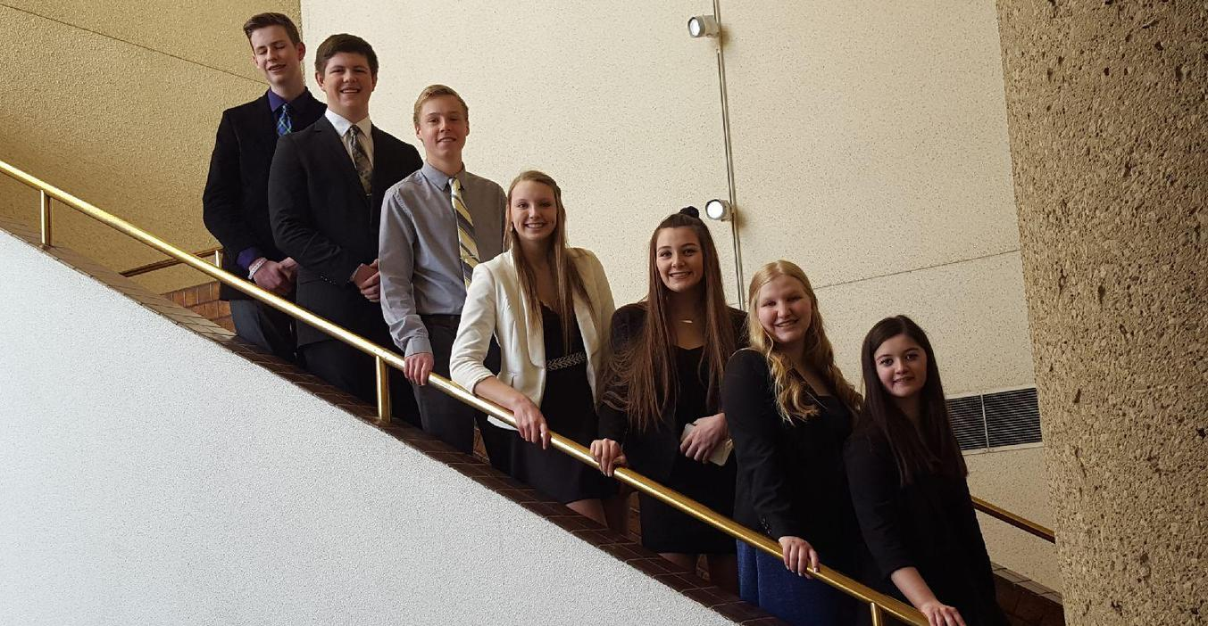 BPA students attend the state convention.