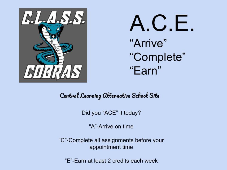 A.C.E. Poster