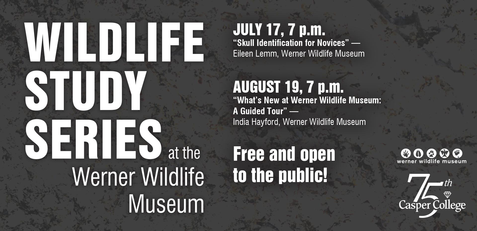 Werner Wildlife Study Series flyer
