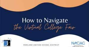 Virtual College Fair Tutorial