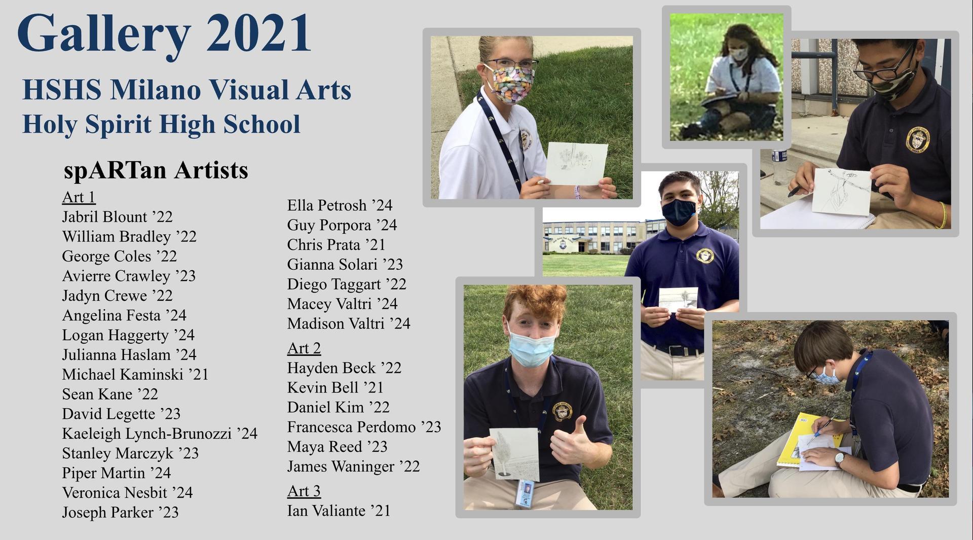 2021 Spartan Art Gallery