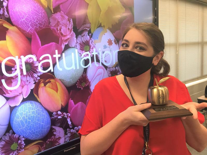 Kimberly Ridinger Golden Apple Award Winner