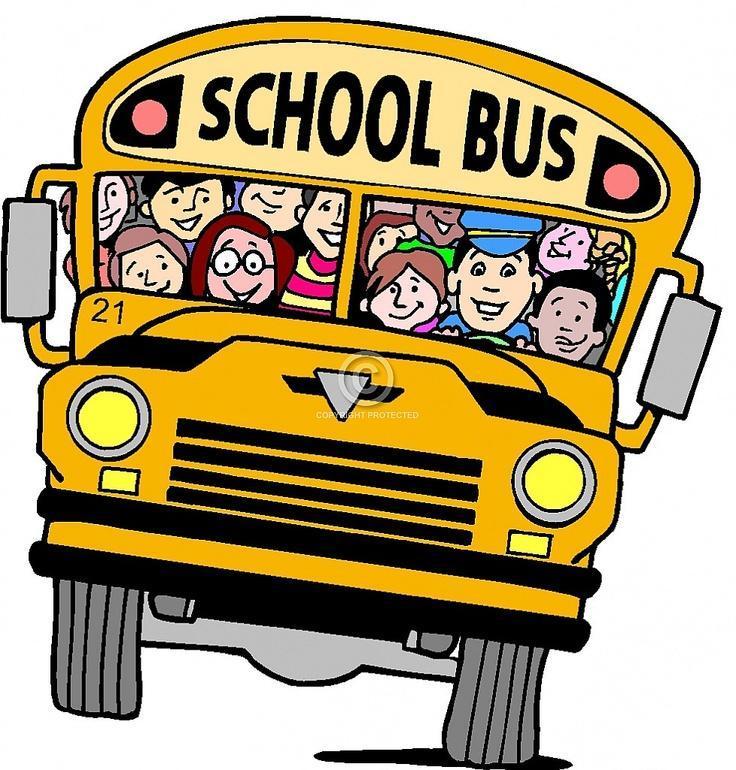 Bus with children
