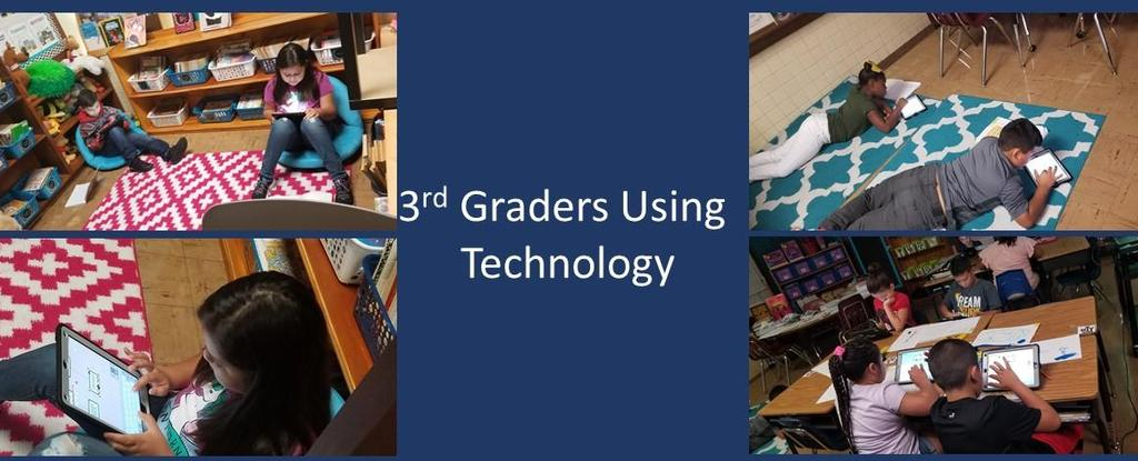 3rd Graders Technology