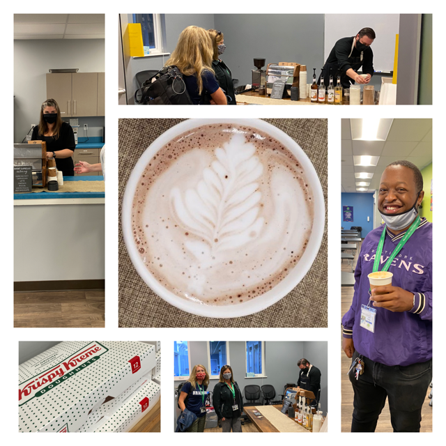 Bradford Board of Directors Provides Coffee Bar for Staff! Featured Photo