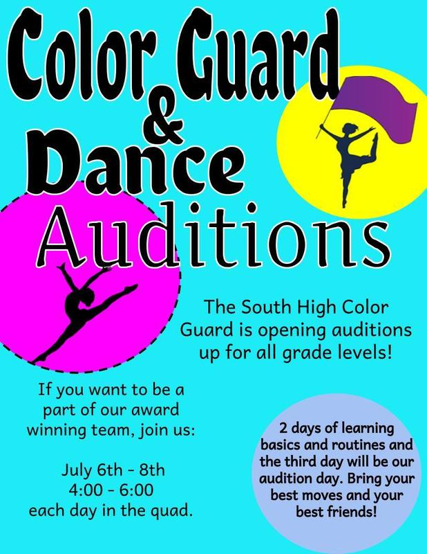 Color Guard and Dance Info