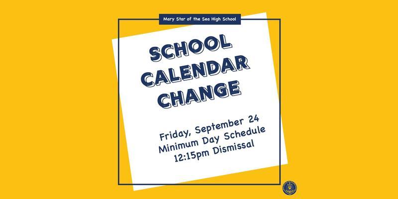 Calendar Change Featured Photo