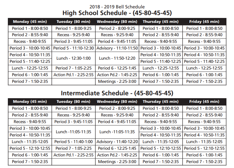 Pittsburgh Public School Calendar.Kahuku High And Intermediate School