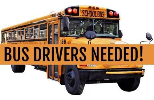 Bus Drivers Needed!! Featured Photo