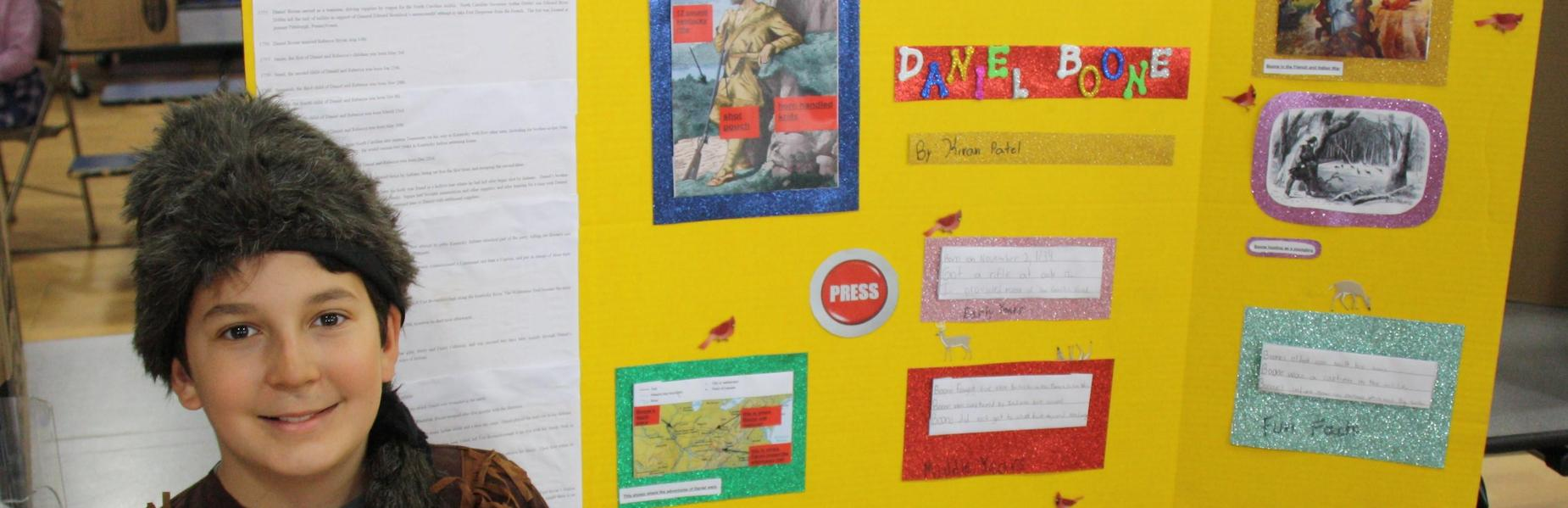 History comes alive at Tamaques School's Living Wax Museum.