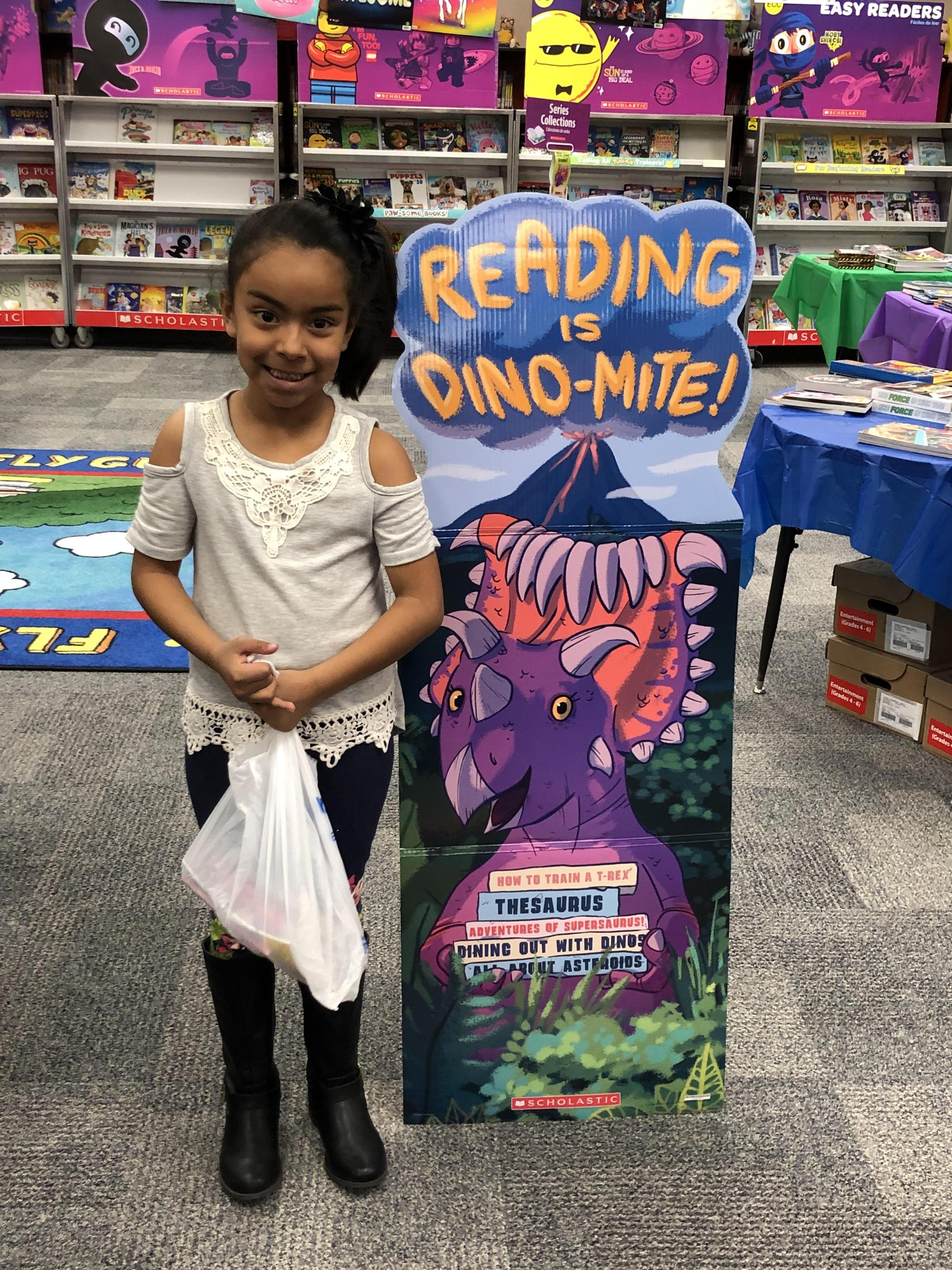 Book Fair Drawing Winner