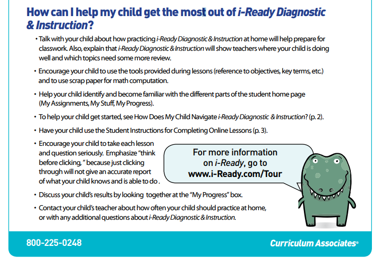 iReady Parent Guide 2