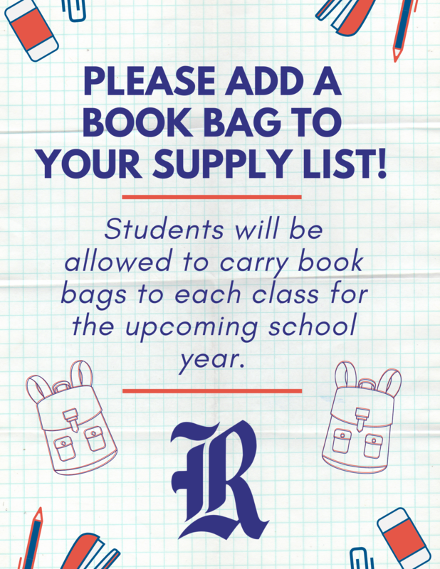 Students will need a book bag for the upcoming school year. Featured Photo