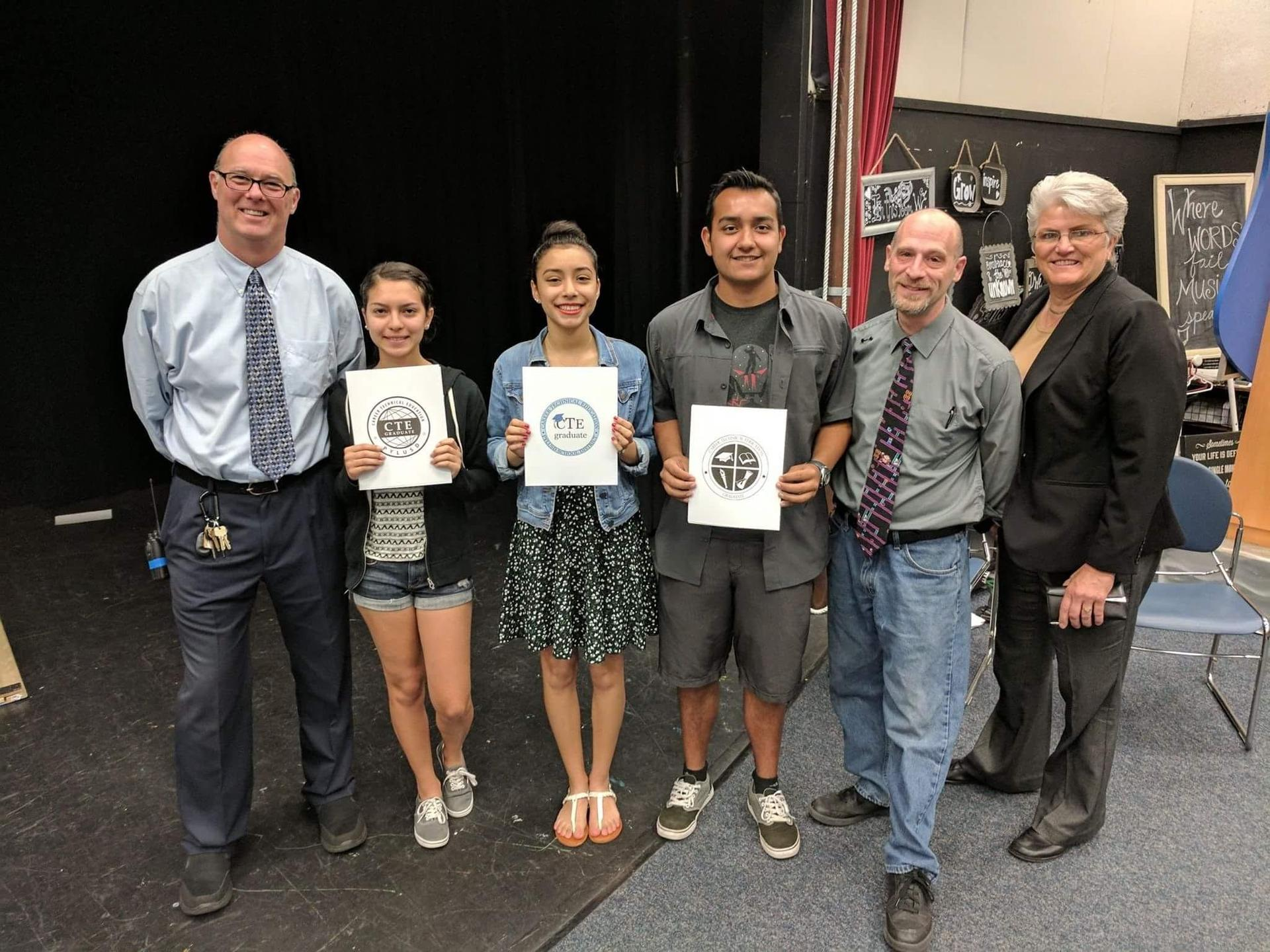 3 finalists in the PYLUSD medallion design competition