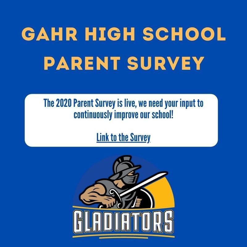 Gahr High School Parent Survey