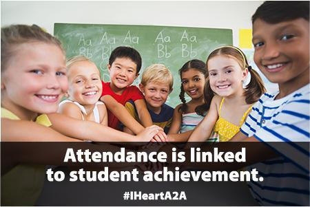 Attendance linked to achievement