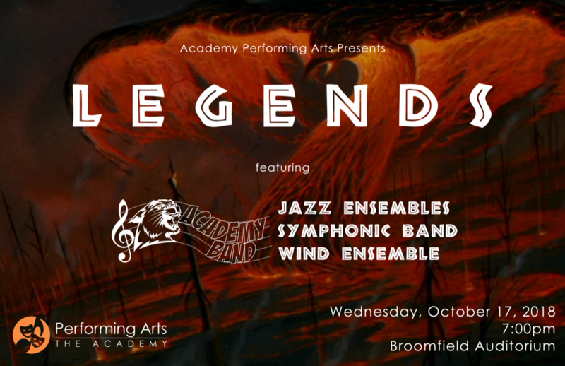 Academy Band - Legends performance Thumbnail Image