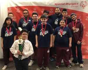 Garcia Special Olympics team wins the gold