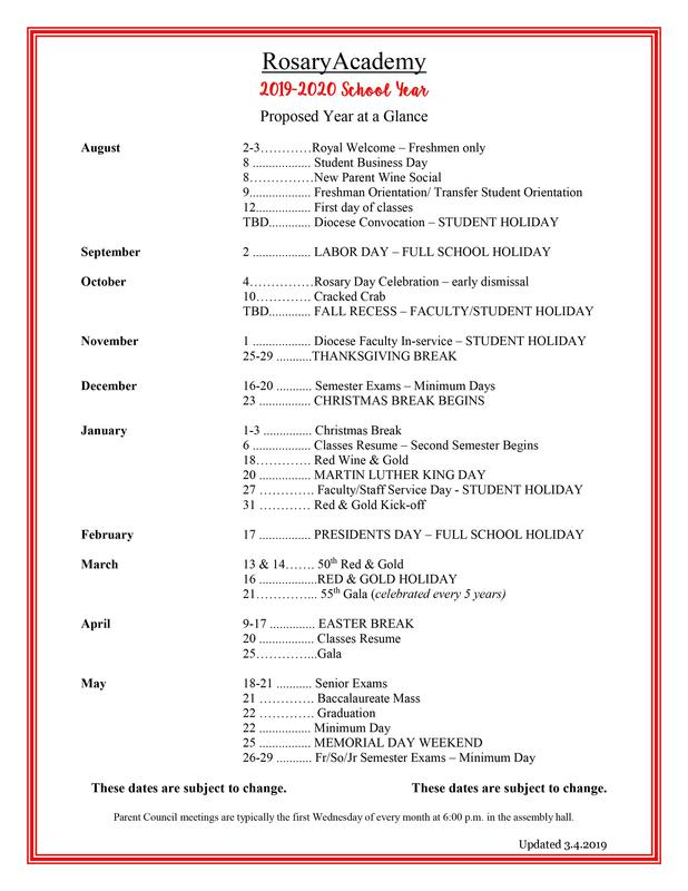 2019-2020 Year at a Glance Proposed Calendar - Incoming Parents_V2.jpg