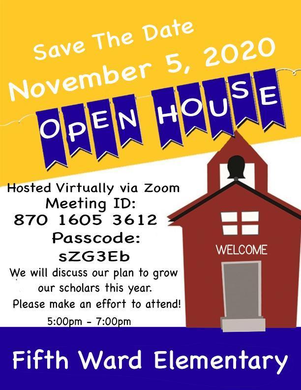 Open House November 5, 2020 Thumbnail Image