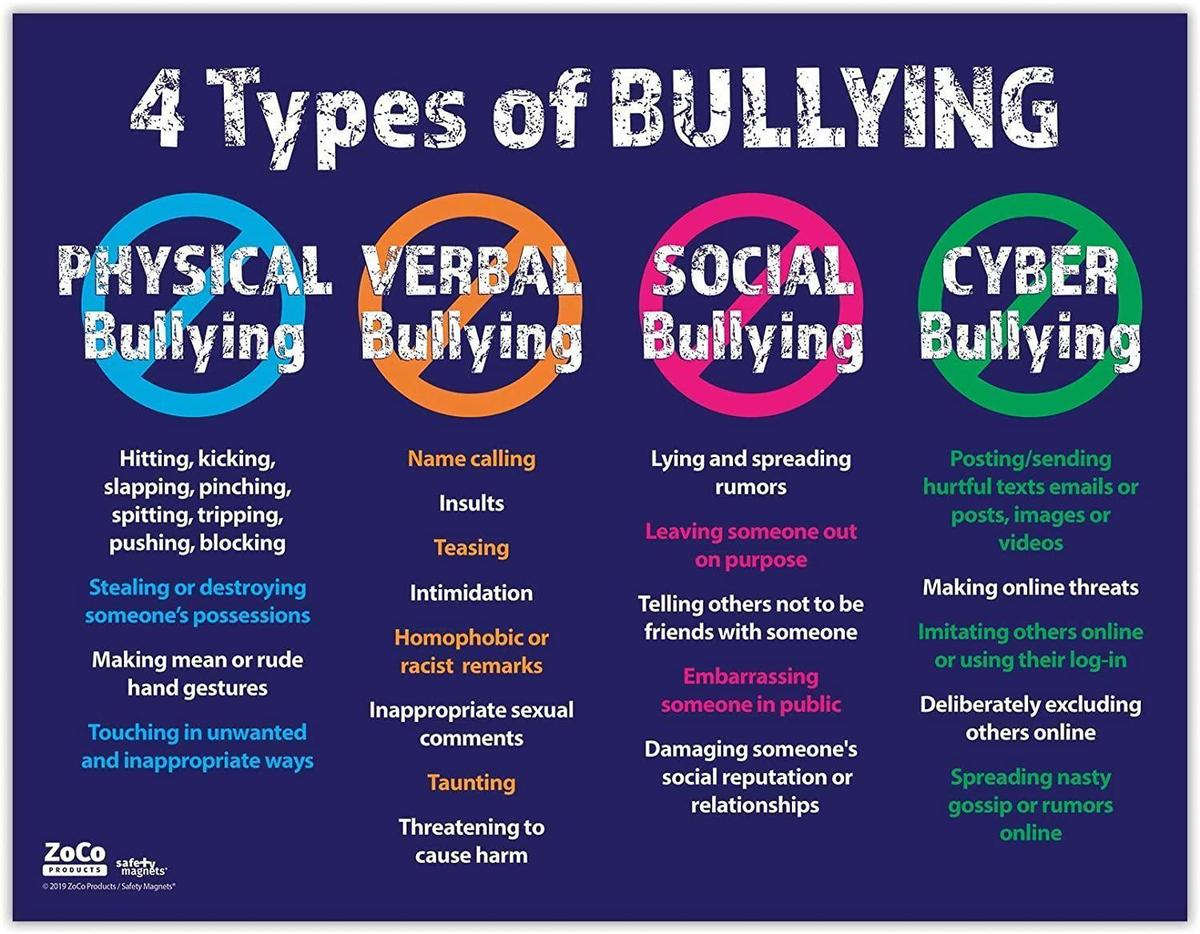 4 Types of Bullying