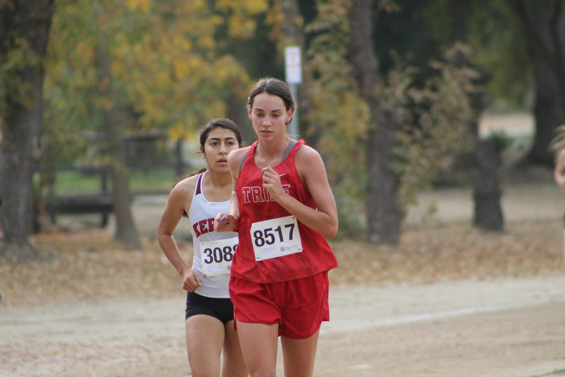 Josephine Moore running
