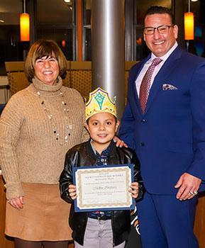 Hatchery Hill Student of the Month - January - Melbin Inestroza