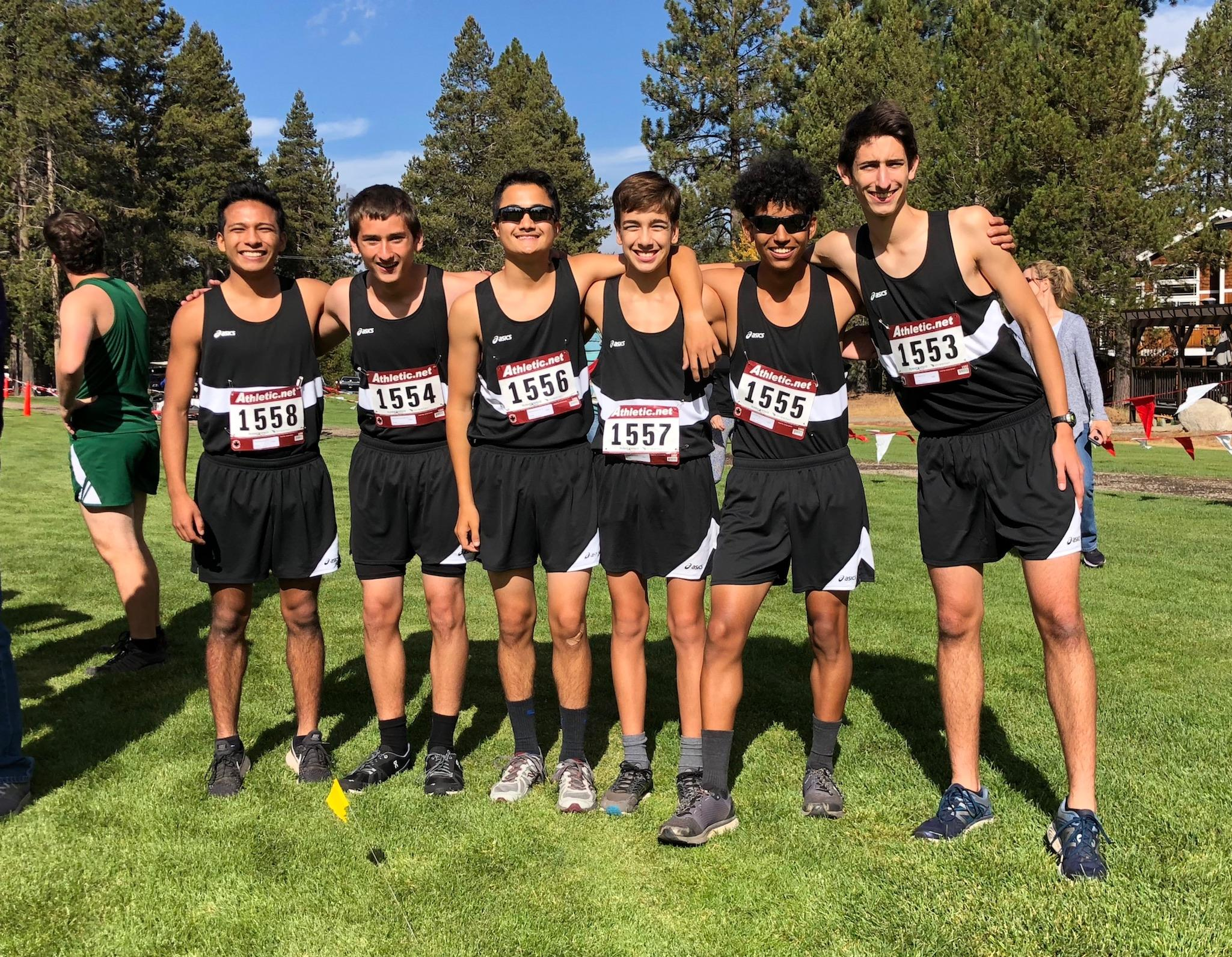 Photo of 2018 Del Mar Cross Country Team Boys at Lake Tahoe Invitation Run