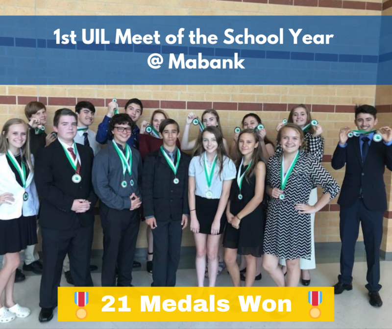 First UIL Meet of the Year Featured Photo