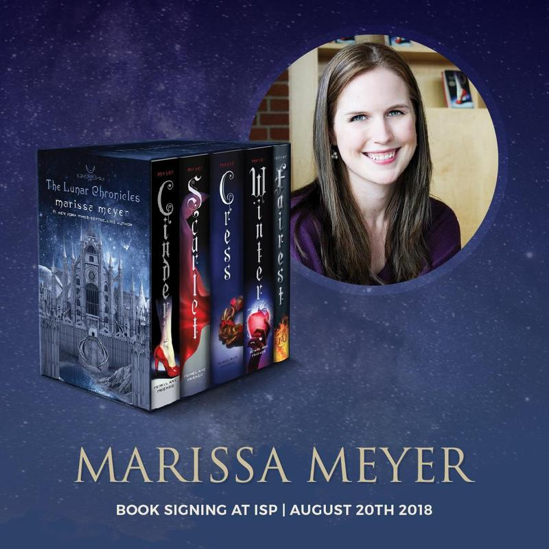 Visiting Author Marissa Meyer at ISP Save the Date  August 20th Featured Photo
