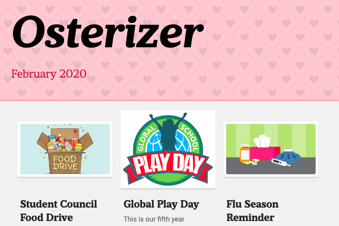 Osterizer - February 2020 Featured Photo
