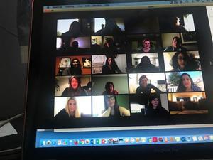 group 3 of zoom meeting